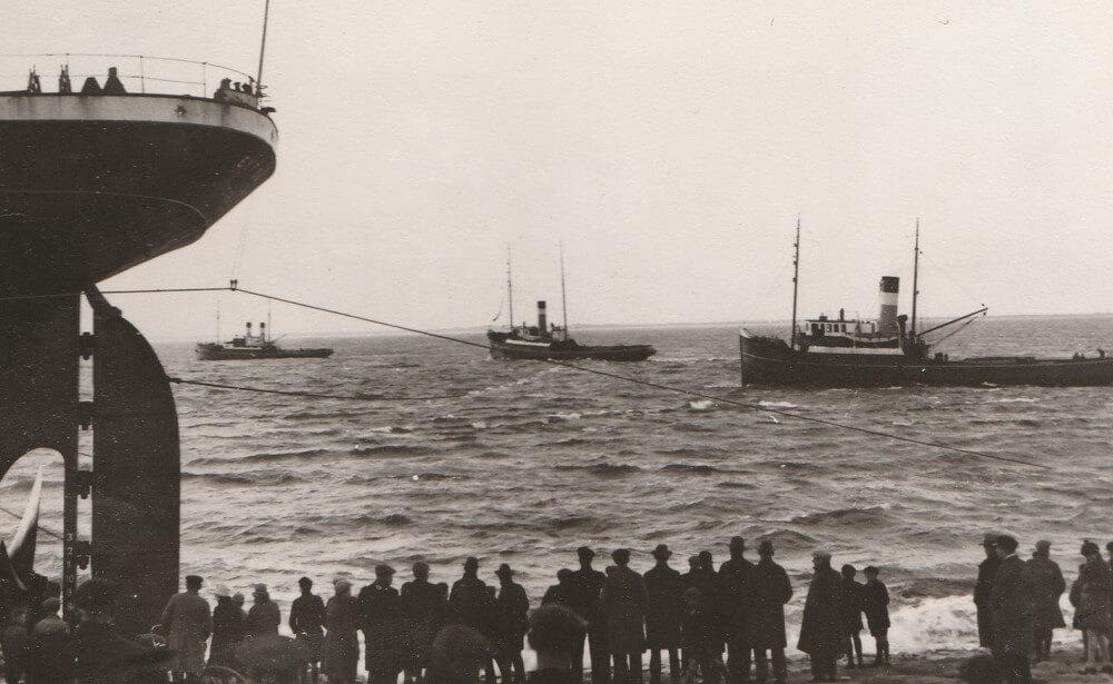 De vlotsleeppoging in maart 1929