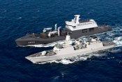 Middellandse zee,3 maart 2012. Hr.Ms.De Ruyter neemt als vlaggenschip deel aan Operatie Active Endeavour (OAE)  De kerntaak van OAE is het verzamelen van informatie over,en afschrikking en ontwrichting van het gebruik van de Middellandse zee voor terroris